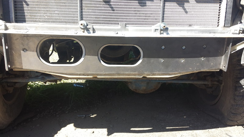 jeep cherokee xj behind the bumper stiffiners